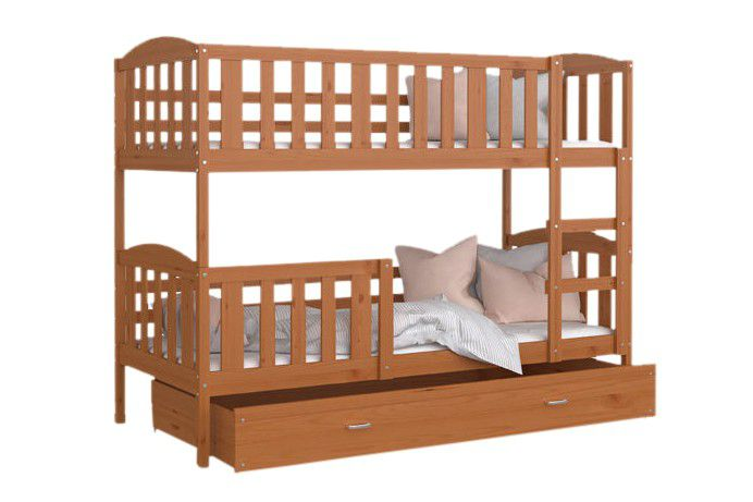 Patrová postel Kubus - 190 x 80 cm olše